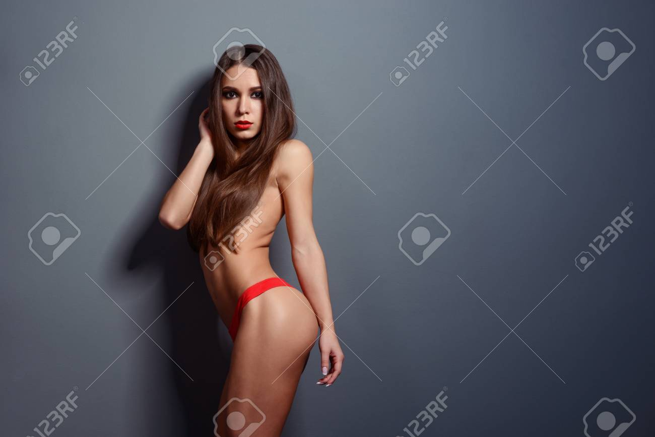 Almost nude girl pics