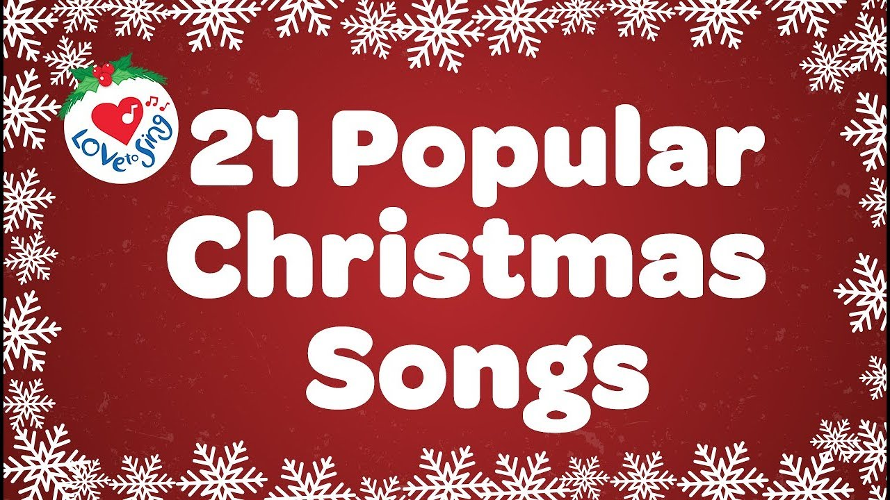 Most popular christmas songs in america