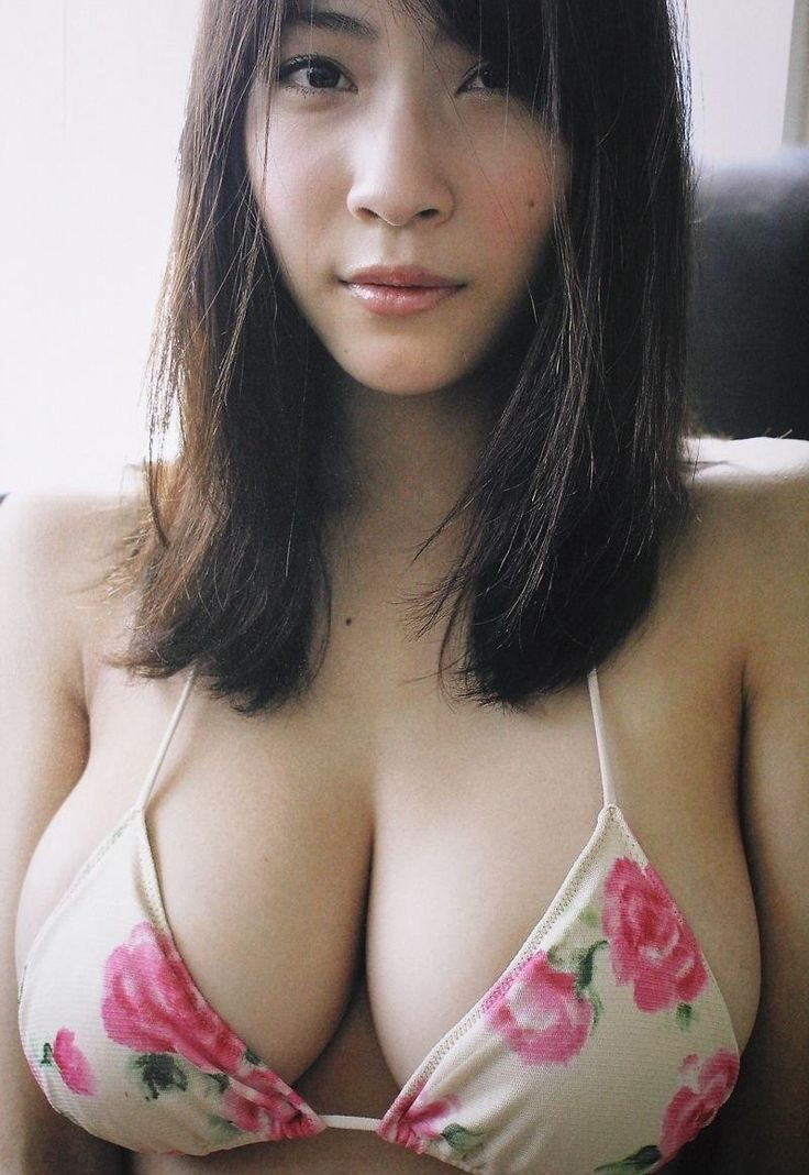 Young busty asian