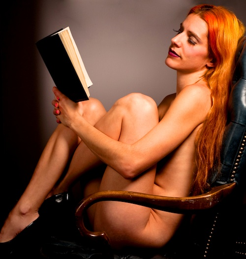 Science fiction girl naked
