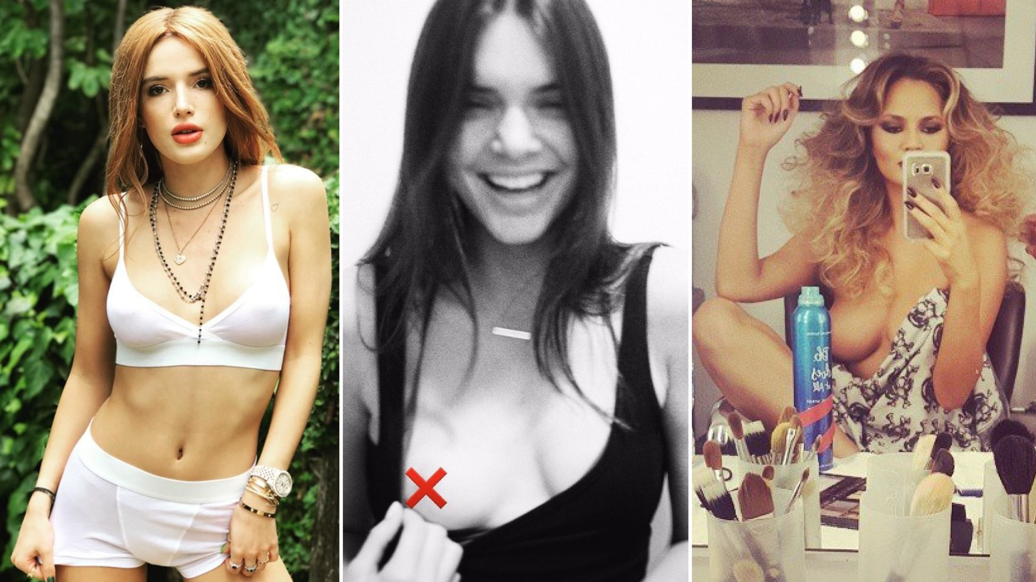 Famous girls exposed