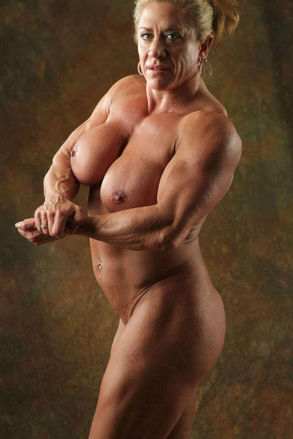 Mature muscled female porn