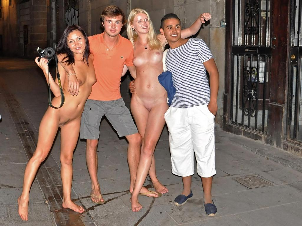 Naked girls night out
